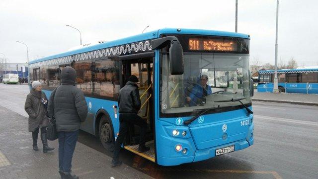 Автобусы идущие до станции солнечная москва
